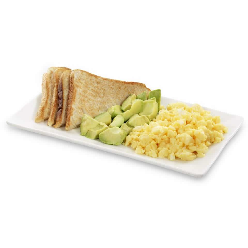 Scrambled Egg, Avocado & Toast