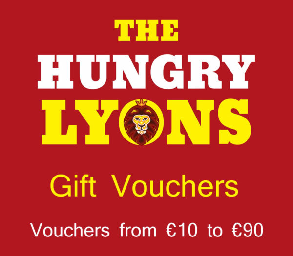Hungry Lyons Gift Vouchers